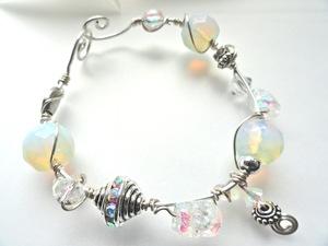 winter white lights ss bracelet